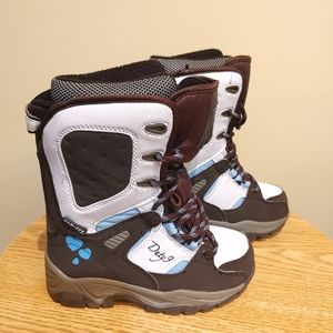 Duty 9 max-Dry girls size 13/30 Snow Boot